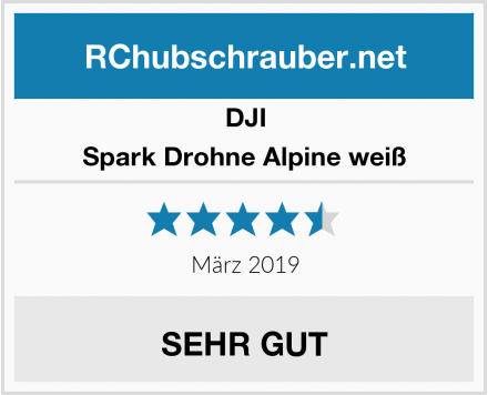 DJI Spark Drohne Alpine weiß Test