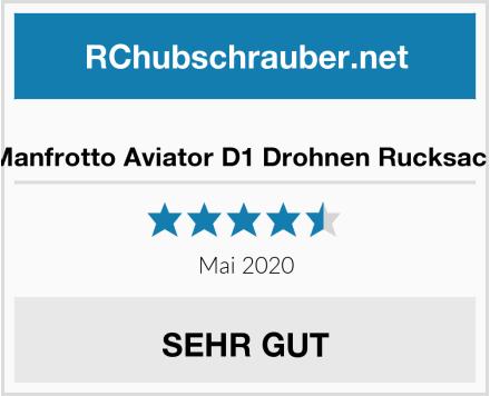 Manfrotto Aviator D1 Drohnen Rucksack Test