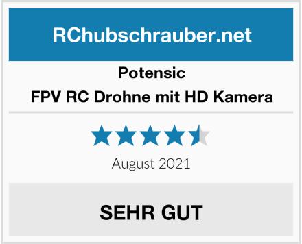 Potensic FPV RC Drohne mit HD Kamera Test