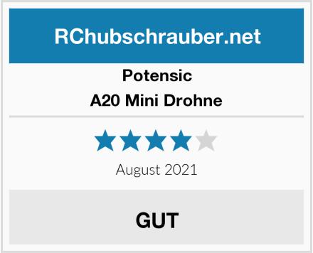 Potensic A20 Mini Drohne Test
