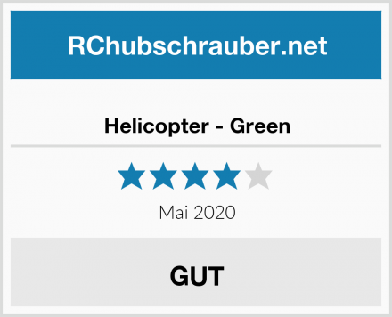 Helicopter - Green Test