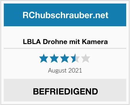 LBLA Drohne mit Kamera Test