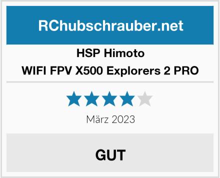 HSP Himoto WIFI FPV X500 Explorers 2 PRO Test