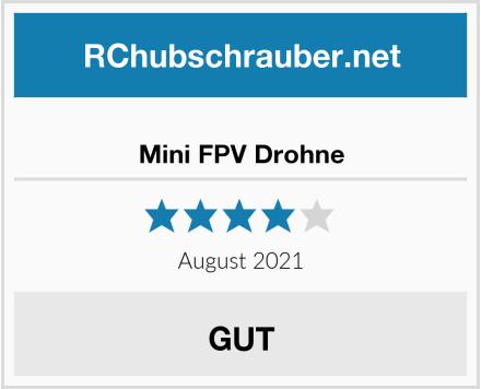 Mini FPV Drohne Test