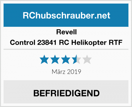 Revell Control 23841 RC Helikopter RTF Test