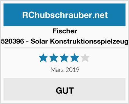 Fischer 520396 - Solar Konstruktionsspielzeug Test