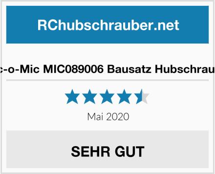 Mic-o-Mic MIC089006 Bausatz Hubschrauber Test