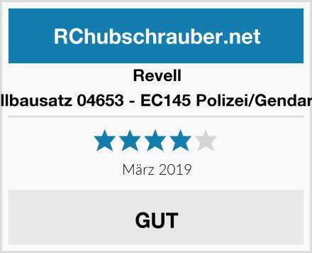Revell Modellbausatz 04653 - EC145 Polizei/Gendarmerie Test