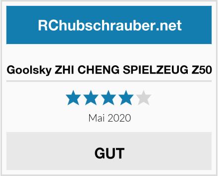 Goolsky ZHI CHENG SPIELZEUG Z50 Test