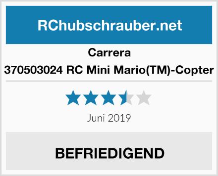 Carrera 370503024 RC Mini Mario(TM)-Copter Test