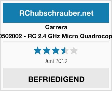 Carrera 370502002 - RC 2.4 GHz Micro Quadrocopter Test