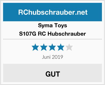 Syma Toys S107G RC Hubschrauber Test