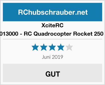 XciteRC 15013000 - RC Quadrocopter Rocket 250 3D Test