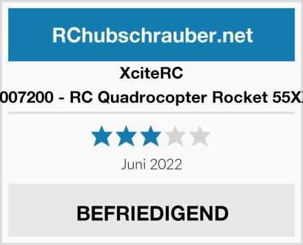 XciteRC 15007200 - RC Quadrocopter Rocket 55XXS Test