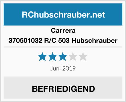 Carrera 370501032 R/C 503 Hubschrauber Test
