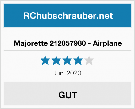 Majorette 212057980 - Airplane Test