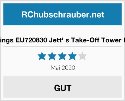 Super Wings EU720830 Jett' s Take-Off Tower Flugzeug Test