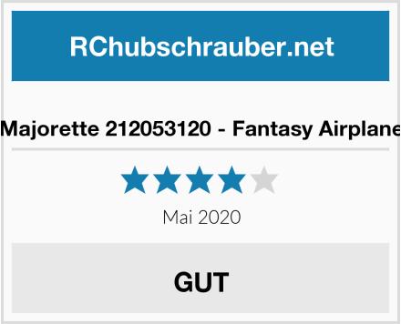 Majorette 212053120 - Fantasy Airplane Test
