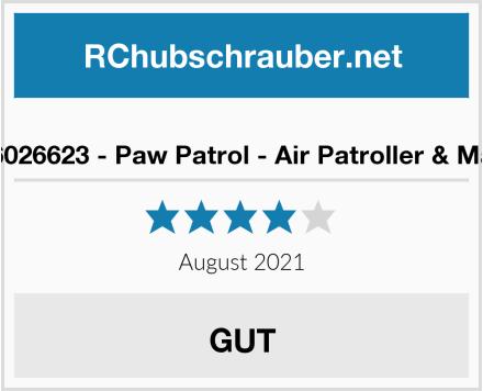 Spin Master 6026623 - Paw Patrol - Air Patroller & Master 6027647 Test