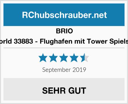 BRIO World 33883 - Flughafen mit Tower Spielset Test