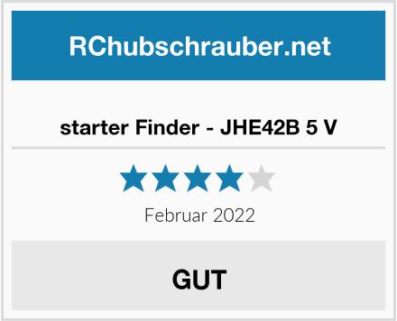 starter Finder - JHE42B 5 V Test