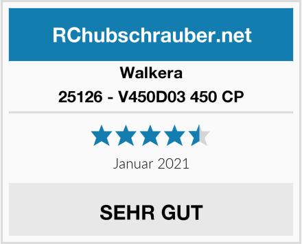 Walkera 25126 - V450D03 450 CP Test