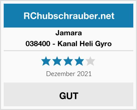 Jamara 038400 - Kanal Heli Gyro Test