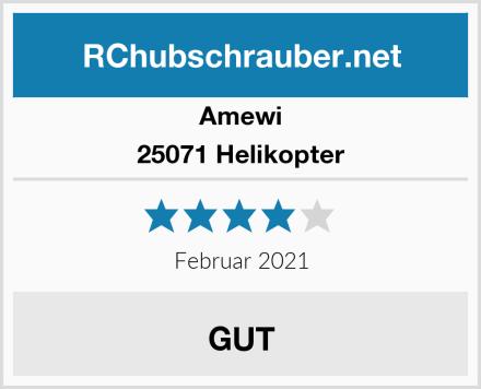 Amewi 25071 Helikopter Test
