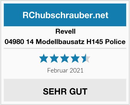 Revell 04980 14 Modellbausatz H145 Police Test