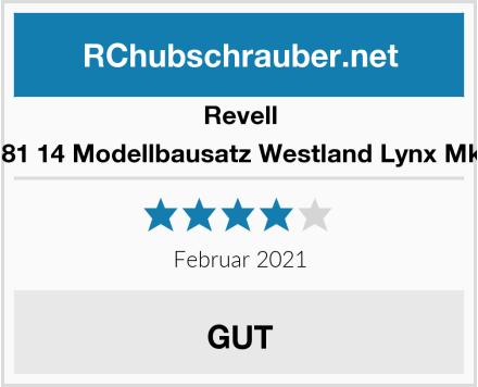 """Revell 04981 14 Modellbausatz Westland Lynx Mk. 8"""" Test"""