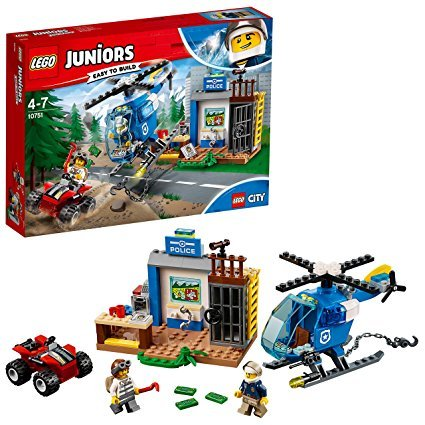 LEGO Juniors 10751 - Gebirgspolizei auf Verfolgungsjagd