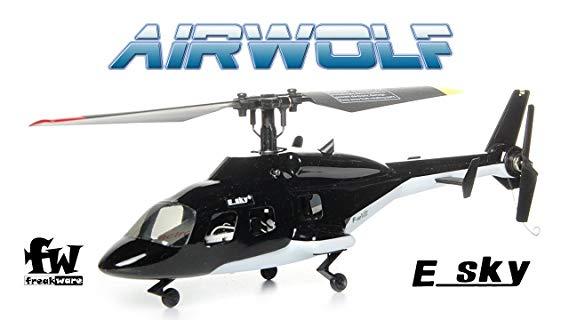 Esky RC Helikopter F150 V2 Mini Helikopter Airwolf