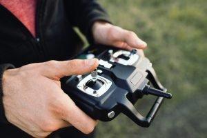 RC Hubschrauber überkopf fliegen