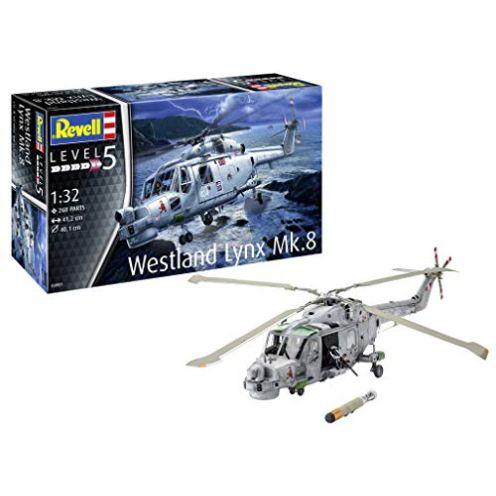"""Revell 04981 14 Modellbausatz Westland Lynx Mk. 8"""""""