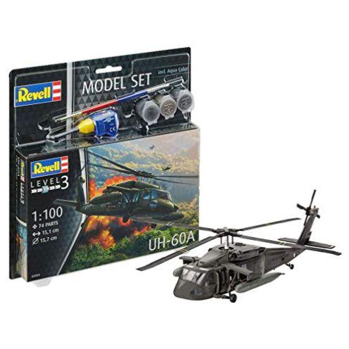 Revell 64984-Modellbausatz Hubschrauber 64984 Set