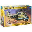 ZVEZDA 500787315 - 1:72 MIL - Mi 24P Helicopter Modellbau