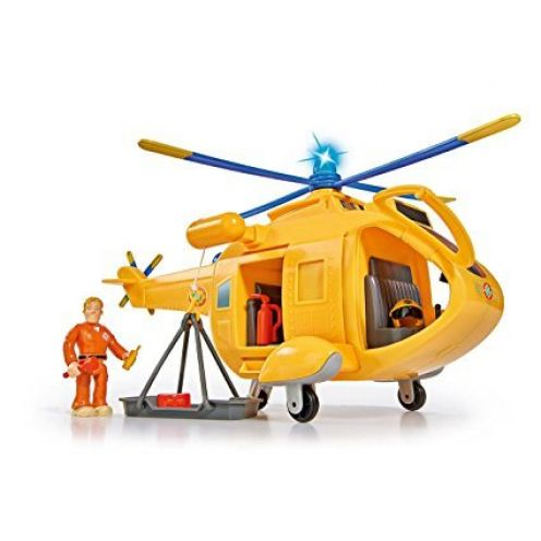 Simba 109251002 - Feuerwehrmann Sam Hubschrauber Wallaby II