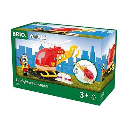 BRIO 33797 - Feuerwehr Hubschrauber